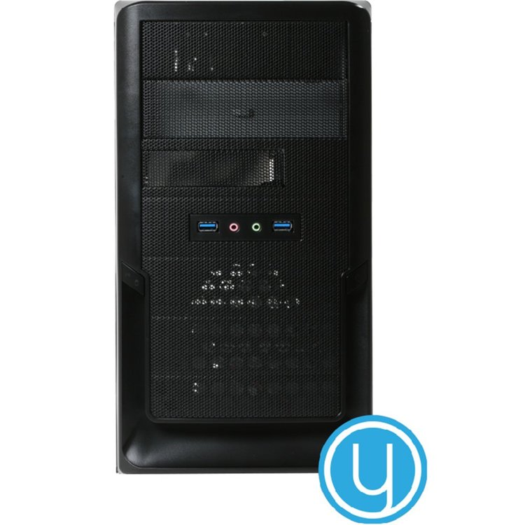 Yours Blue Desktop PC i3/8GB/1TB/240GB SSD/HDMI/W10
