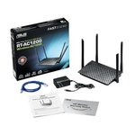 Asus RT-AC1200 Router/ 802.11ac / 1167Mbps / 4x5dBi-Antennes