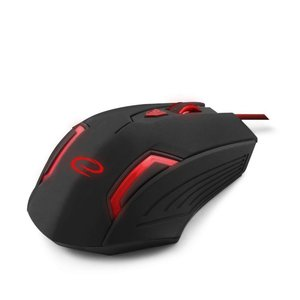 Esperanza Gaming Mouse MX205 Fighter Black/Red