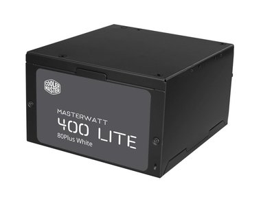 Cooler Master MasterWatt Lite power supply unit 400 W ATX Zwart