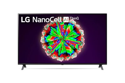 "LG NanoCell 49NANO80 124,5 cm (49"") 4K Ultra HD Smart TV Wi-Fi Titanium"