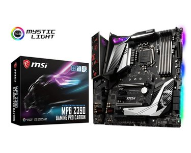 MSI MPG Z390 GAMING PRO CARBON moederbord LGA 1151 (Socket H