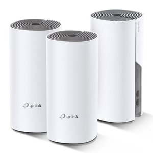TP-LINK Deco E4 (3-pack) Dual-band (2.4 GHz / 5 GHz) Wi-Fi 5 (802.11ac) Wit, Grijs 2 Intern